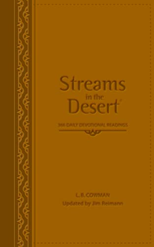 9780310285892: Streams in the Desert: 366 Daily Devotional Readings
