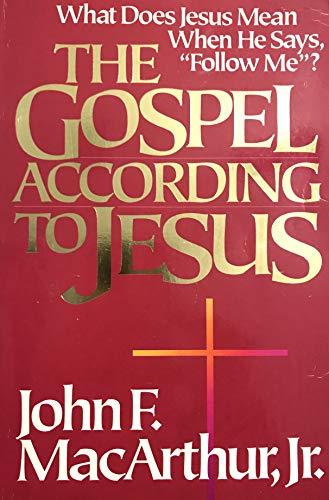 9780310286516: Gospel According to Jesus