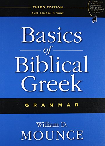 9780310287681: Basics of Biblical Greek Grammar