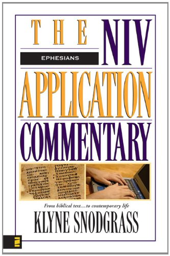 9780310303992: Ephesians (NIV Application Commentary, The)