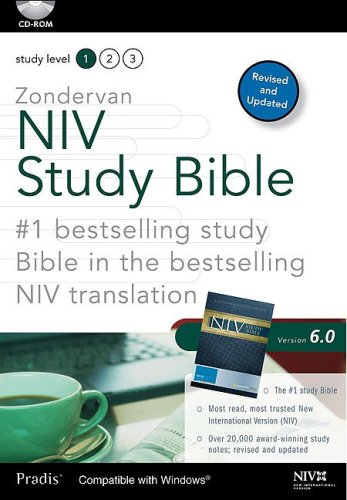 Zondervan NIV Study Bible for Windows 6.0: CD-Rom/Windows