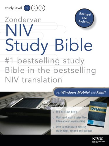 Zondervan NIV Study Bible for Windows Mobile and Palm: New International Version / Updated Edition (0310305500) by Zondervan