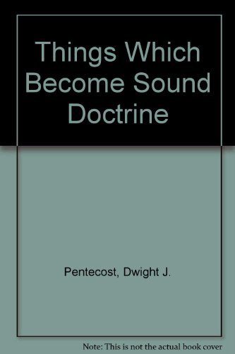 9780310309017: Things Which Become Sound Doctrine