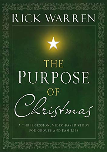 9780310318545: The Purpose of Christmas DVD: A Three-Session, Video-Based Study for Groups or Families