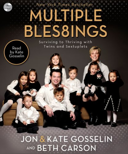 9780310322252: Multiple Blessings: Surviving to Thriving with Twins and Sextuplets