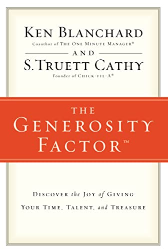 9780310324997: The Generosity Factor: Discover the Joy of Giving Your Time, Talent, and Treasure