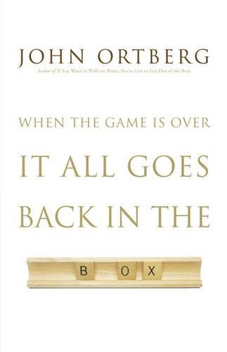 9780310325055: When the Game Is Over, It All Goes Back in the Box