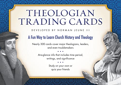9780310328582: Theologian Trading Cards