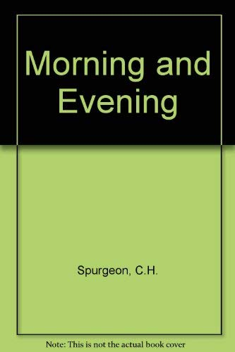 9780310329275: Morning and Evening