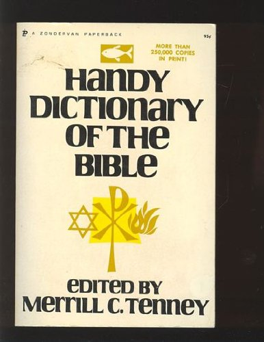 9780310331513: Handy Dictionary of the Bible