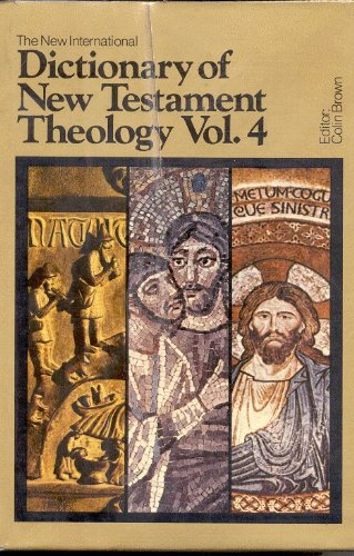 9780310332305: The New International Dictionary of New Testament Theology/Volume 4 Indexes