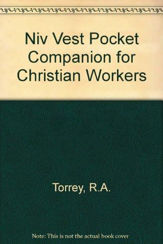 9780310333319: Niv Vest Pocket Companion for Christian Workers