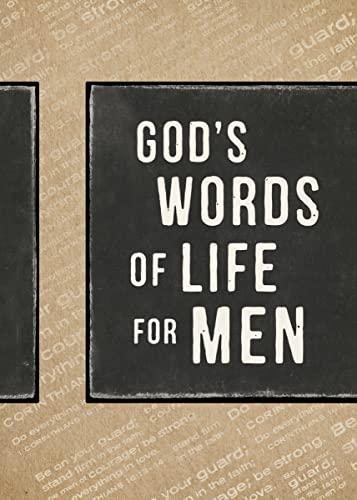 9780310339922: God's Words of Life for Men