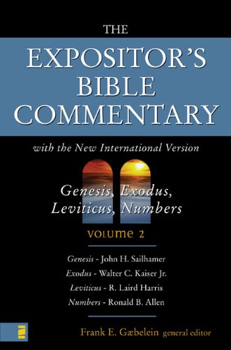 9780310364405: The Expositor's Bible Commentary with New International Version: Genesis, Exodus, Levitcus, Numbers Volume 2