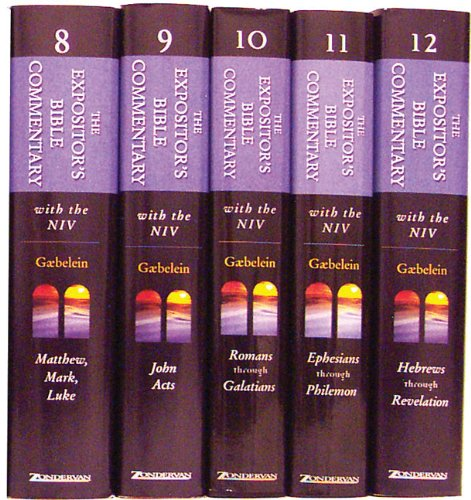 9780310365686: The Expositor's Bible Commentary 5-Volume New Testament Set: Vols. 8, 9, 10, 11, and 12 (Expositor's Bible Commentary, The)