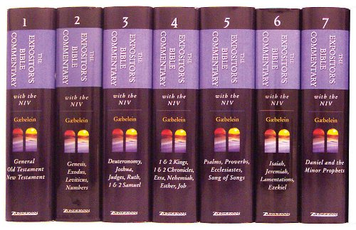 9780310365785: Expositor's Bible Commentary OT 7 Volume Set