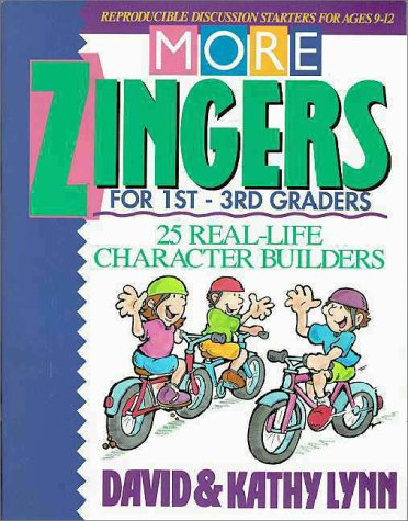9780310372318: More Zingers for 1St-3Rd Graders: 12 Real-Life Character Builders