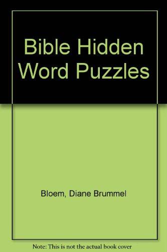 9780310381310: Bible Hidden Word Puzzles