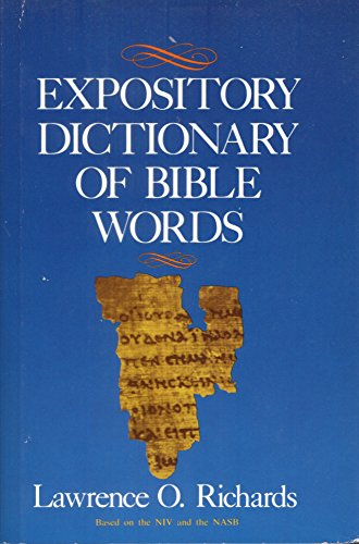 9780310390008: Expository Dictionary of Bible Words