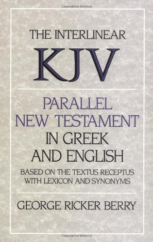 9780310393801: Interlinear KJV Parallel New Testament in Greek and English