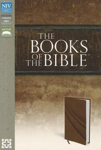 9780310402077: NIV, Books of the Bible, Imitation Leather, Brown