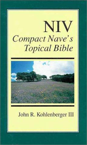 9780310402107: Niv Compact Nave's Topical Bible