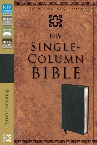 9780310402640: NIV Single-Column Bible