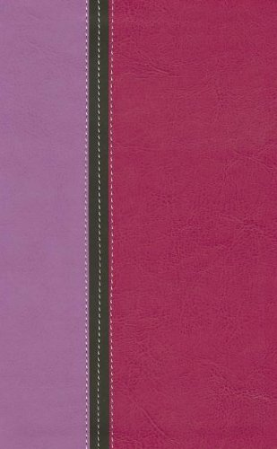 9780310411079: Holy Bible: King James Version Orchid / Hot Pink Italian Duo-Tone Reference Bible