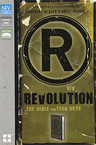 9780310411178: NIV, Revolution: The Bible for Teen Guys, Imitation Leather, Brown: Updated Edition