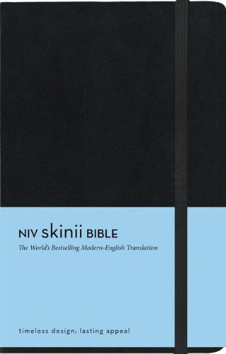 9780310411192: Holy Bible: New International Version, Black, Italian Duo-Tone, Skinii Bible