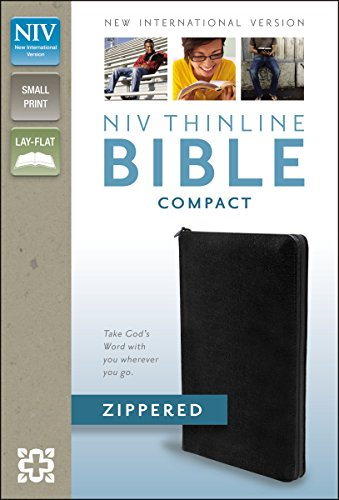 9780310411529: NIV Thinline Zippered Collection Bible, Compact
