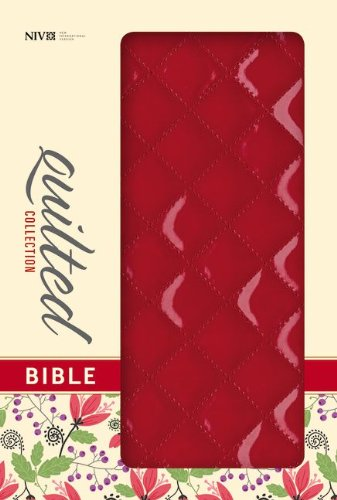 9780310411598: NIV, Quilted Collection Bible, Imitation Leather, Red, Red Letter Edition