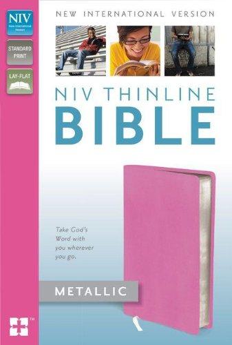9780310411673: NIV Thinline Bible Metallic