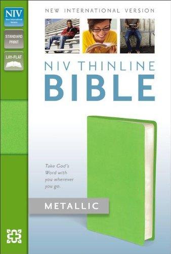 9780310411697: NIV Thinline Bible Metallic