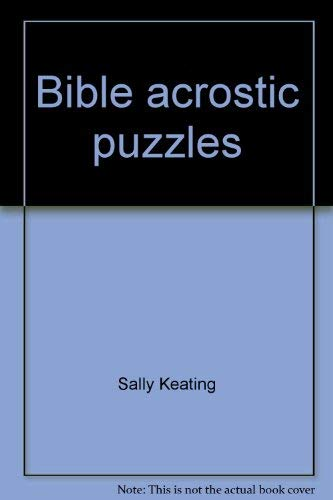 9780310414827: Bible acrostic puzzles (A Fun-to-learn book)