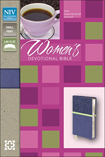 9780310419167: NIV, Women's Devotional Bible, Compact, Imitation Leather, Blue