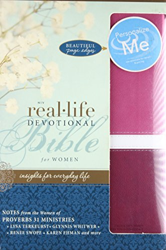 9780310421047: NIV, Real-Life Devotional Bible for Women, Imitation Leather, Pink: Insights for Everyday Life