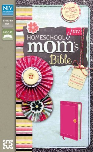 9780310421061: NIV, Homeschool Mom's Bible, Leathersoft, Pink: Daily Personal Encouragement