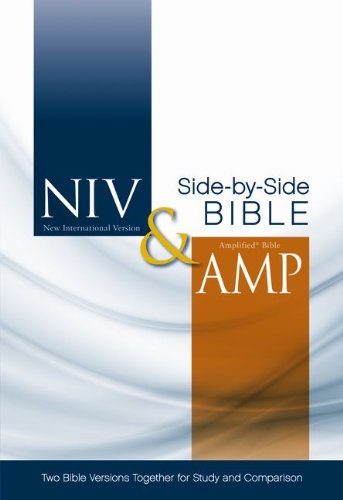 9780310421108: NIV and Amplified Parallel Bible: Two Bible Versions Together for Study and Comparison