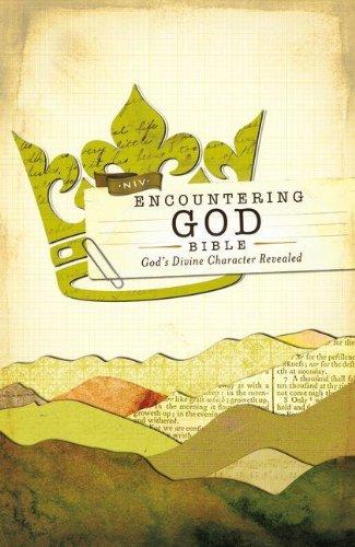 Encountering God Bible-NIV: God's Divine Character Revealed