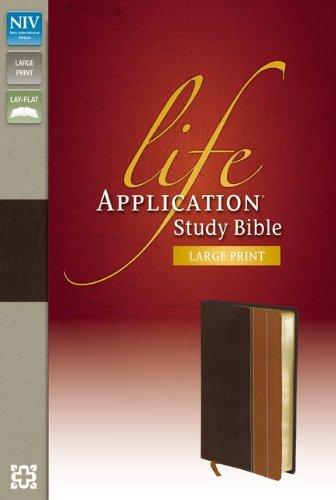 Life Application Study Bible-NIV-Large Print: Zondervan