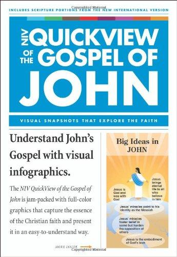 NIV QuickView of the Gospel of John (Niv Quickview Bible): Zondervan