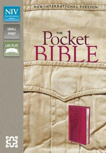 NIV, Pocket Bible, Imitation Leather, Pocket-Sized, Red (9780310423126) by Zondervan