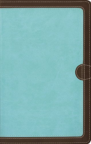 9780310423171: NIV, Thinline Bible, Imitation Leather, Brown/Blue, Red Letter Edition