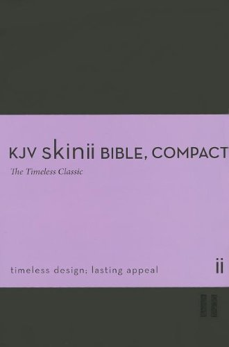 9780310426530: KJV, Skinii Bible, Compact, Imitation Leather, Black, Red Letter Edition