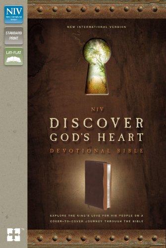 NIV, Discover God's Heart Devotional Bible, Hardcover (Leather): Zondervan Publishing