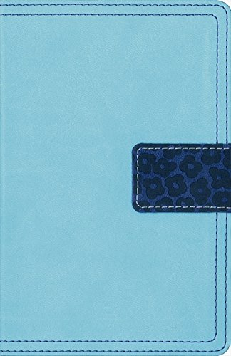 9780310431565: NIV, Thinline Bible Compact, Imitation Leather, Blue/Turquoise