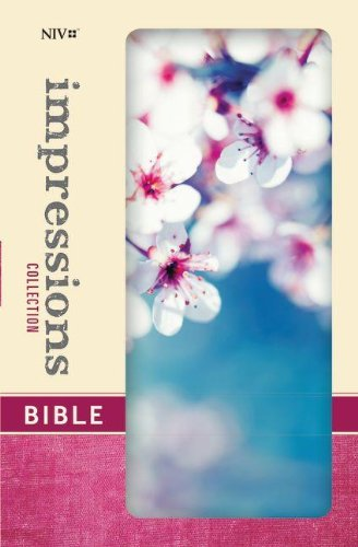 9780310431947: NIV, Impressions Collection Bible, Hardcover, Blue/White