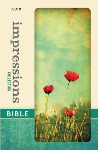 9780310431954: NIV, Impressions Collection Bible, Hardcover, Red/Green