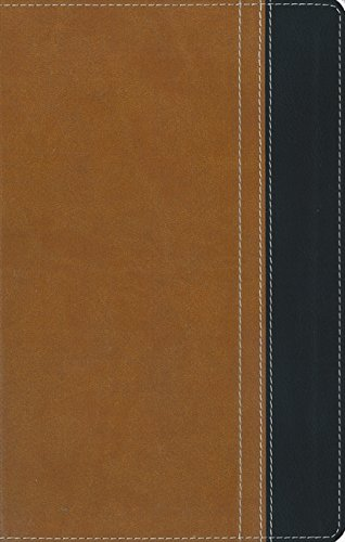 9780310432043: NIV, Thinline Bible, Imitation Leather, Tan/Black, Red Letter Edition